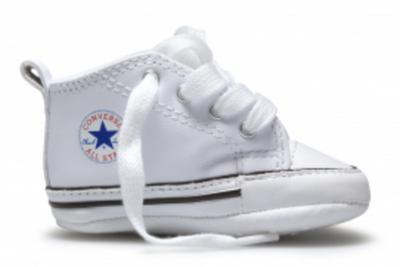 01dd8d18e3d All Star Converse First babschoentjes wit - Babyhuis Teuntje Pluis