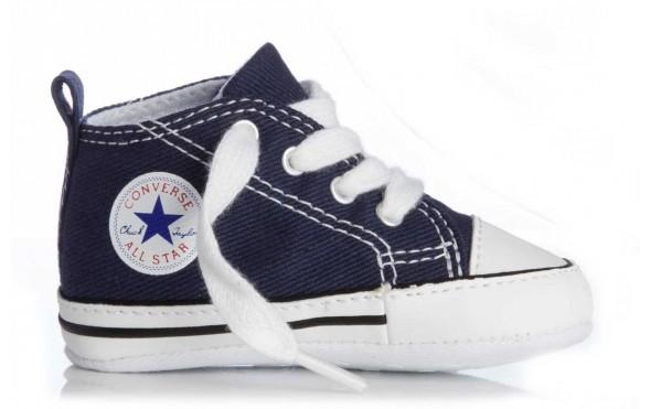 dd27debe491 All Star Converse First babschoentjes blauw - Babyhuis Teuntje Pluis
