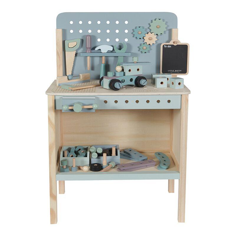 little dutch werkbank babyhuis teuntje pluis. Black Bedroom Furniture Sets. Home Design Ideas